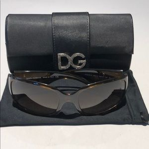 Dolce & Gabbana tortoise women's sunglasses